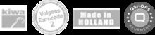Volgens Komo/Kiwa en Eurocode - Made in Holland