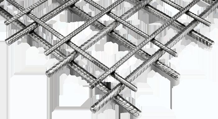 Inox bouwstaalnetten